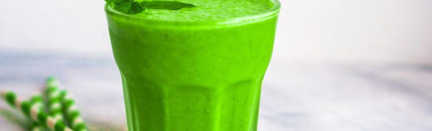 zielony koktajl przepis