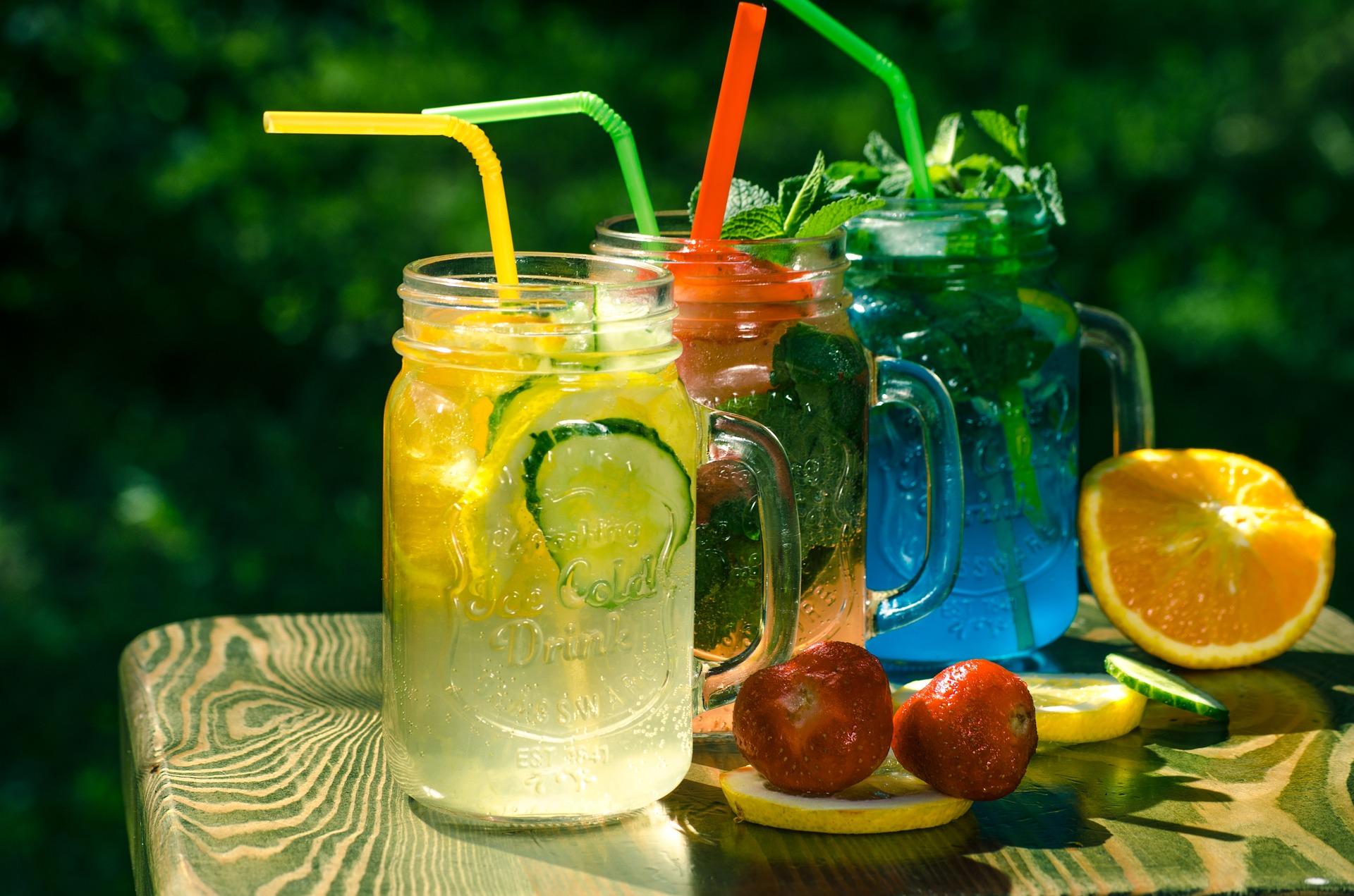 zdrowe napoje na upały